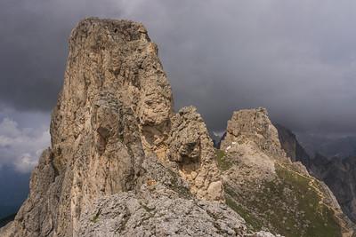Ferrata Masarè in the Dolomites