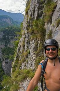 A long weekend of sport climbing and relaxing at Arco near Lago di Garda