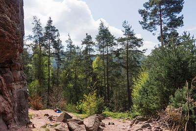 Climbing in the Südpfalz