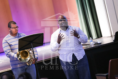 UNC Pembroke Music Department presents the Demondrae Thurman Masterclass on Friday, March 21st, 2014. Demondrae_Thurman_0025.JPG