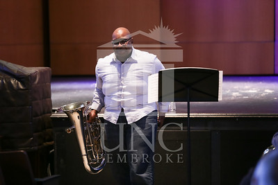 UNC Pembroke Music Department presents the Demondrae Thurman Masterclass on Friday, March 21st, 2014. Demondrae_Thurman_0009.JPG