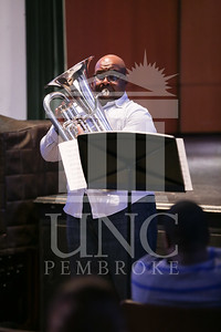 UNC Pembroke Music Department presents the Demondrae Thurman Masterclass on Friday, March 21st, 2014. Demondrae_Thurman_0008.JPG