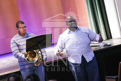 UNC Pembroke Music Department presents the Demondrae Thurman Masterclass on Friday, March 21st, 2014. Demondrae_Thurman_0024.JPG