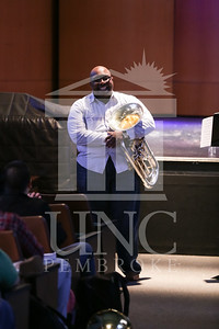 UNC Pembroke Music Department presents the Demondrae Thurman Masterclass on Friday, March 21st, 2014. Demondrae_Thurman_0011.JPG