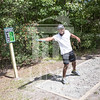 The University of North Carolina at Pembroke hosts the launch of the Disc Golf Course on Thursday, August 21st, 2014.<br /> Disc_Golf_Launch_0007.JPG