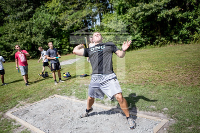 The University of North Carolina at Pembroke hosts the launch of the Disc Golf Course on Thursday, August 21st, 2014. Disc_Golf_Launch_0025.JPG