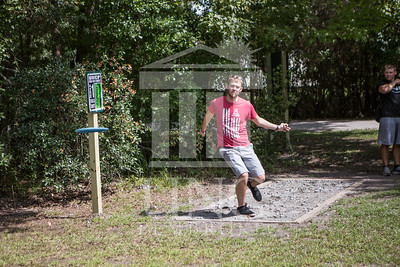 The University of North Carolina at Pembroke hosts the launch of the Disc Golf Course on Thursday, August 21st, 2014. Disc_Golf_Launch_0018.JPG