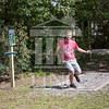 The University of North Carolina at Pembroke hosts the launch of the Disc Golf Course on Thursday, August 21st, 2014.<br /> Disc_Golf_Launch_0018.JPG