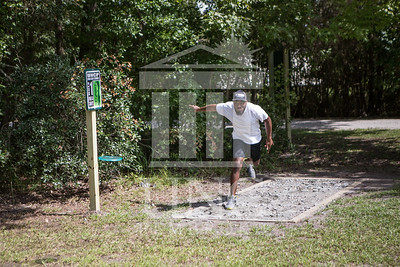 The University of North Carolina at Pembroke hosts the launch of the Disc Golf Course on Thursday, August 21st, 2014. Disc_Golf_Launch_0019.JPG