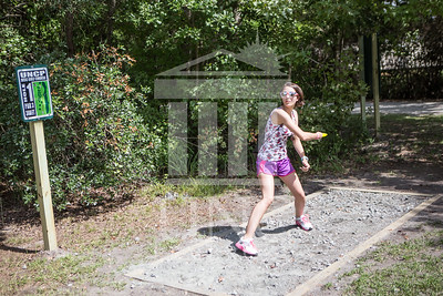 The University of North Carolina at Pembroke hosts the launch of the Disc Golf Course on Thursday, August 21st, 2014. Disc_Golf_Launch_0008.JPG