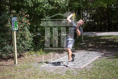 The University of North Carolina at Pembroke hosts the launch of the Disc Golf Course on Thursday, August 21st, 2014. Disc_Golf_Launch_0016.JPG