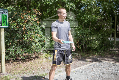 The University of North Carolina at Pembroke hosts the launch of the Disc Golf Course on Thursday, August 21st, 2014. Disc_Golf_Launch_0003.JPG