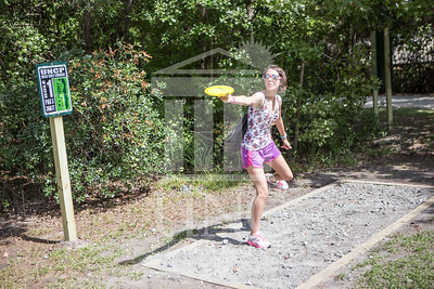 The University of North Carolina at Pembroke hosts the launch of the Disc Golf Course on Thursday, August 21st, 2014. Disc_Golf_Launch_0009.JPG