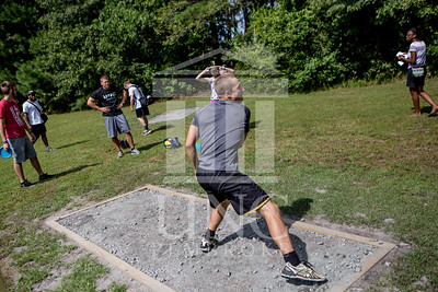 The University of North Carolina at Pembroke hosts the launch of the Disc Golf Course on Thursday, August 21st, 2014. Disc_Golf_Launch_0026.JPG