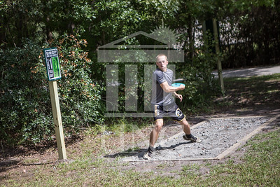 The University of North Carolina at Pembroke hosts the launch of the Disc Golf Course on Thursday, August 21st, 2014. Disc_Golf_Launch_0017.JPG