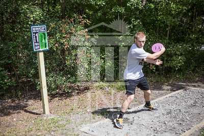 The University of North Carolina at Pembroke hosts the launch of the Disc Golf Course on Thursday, August 21st, 2014. Disc_Golf_Launch_0013.JPG