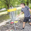 The University of North Carolina at Pembroke hosts the launch of the Disc Golf Course on Thursday, August 21st, 2014.<br /> Disc_Golf_Launch_0030.JPG