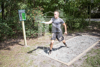 The University of North Carolina at Pembroke hosts the launch of the Disc Golf Course on Thursday, August 21st, 2014. Disc_Golf_Launch_0004.JPG