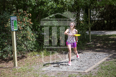 The University of North Carolina at Pembroke hosts the launch of the Disc Golf Course on Thursday, August 21st, 2014. Disc_Golf_Launch_0014.JPG