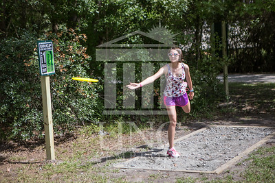 The University of North Carolina at Pembroke hosts the launch of the Disc Golf Course on Thursday, August 21st, 2014. Disc_Golf_Launch_0015.JPG