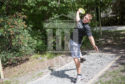 The University of North Carolina at Pembroke hosts the launch of the Disc Golf Course on Thursday, August 21st, 2014. Disc_Golf_Launch_0010.JPG