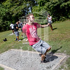 The University of North Carolina at Pembroke hosts the launch of the Disc Golf Course on Thursday, August 21st, 2014.<br /> Disc_Golf_Launch_0027.JPG