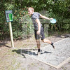 The University of North Carolina at Pembroke hosts the launch of the Disc Golf Course on Thursday, August 21st, 2014.<br /> Disc_Golf_Launch_0005.JPG