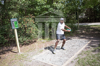 The University of North Carolina at Pembroke hosts the launch of the Disc Golf Course on Thursday, August 21st, 2014. Disc_Golf_Launch_0006.JPG