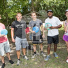 The University of North Carolina at Pembroke hosts the launch of the Disc Golf Course on Thursday, August 21st, 2014.<br /> Disc_Golf_Launch_0002.JPG