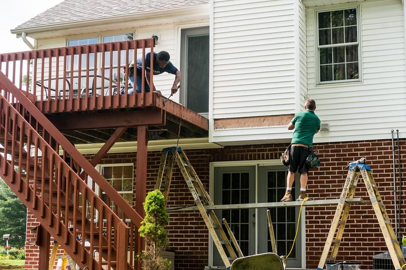 Extending The Deck