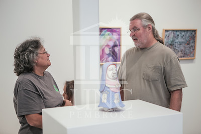The University of North Carolina at Pembroke hosts the Faculty Art Exhibit on Wednesday, September 3rd, 2014. Faculty_Art_Exhibit_0009.JPG