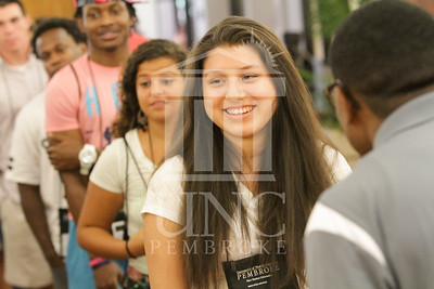 The University of North Carolina at Pembroke holds Freshman Orientation in July 2014. Freshman_Orientation_0586.JPG