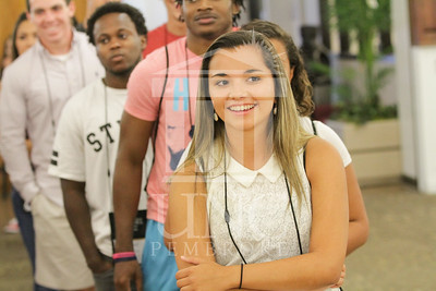 The University of North Carolina at Pembroke holds Freshman Orientation in July 2014. Freshman_Orientation_0594.JPG