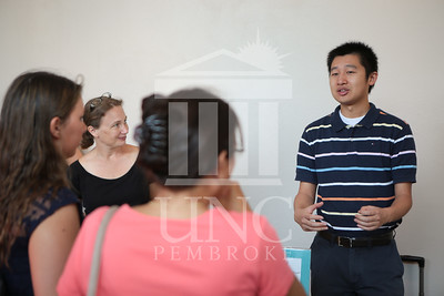 The University of North Carolina at Pembroke holds Freshman Orientation in July 2014. Freshman_Orientation_0003.JPG