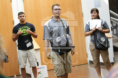 The University of North Carolina at Pembroke holds Freshman Orientation in July 2014. Freshman_Orientation_0568.JPG