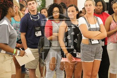 The University of North Carolina at Pembroke holds Freshman Orientation in July 2014. Freshman_Orientation_0575.JPG