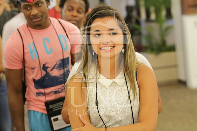 The University of North Carolina at Pembroke holds Freshman Orientation in July 2014. Freshman_Orientation_0589.JPG