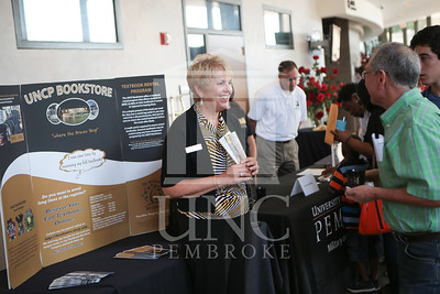 The University of North Carolina at Pembroke holds Freshman Orientation in July 2014. Freshman_Orientation_0004.JPG