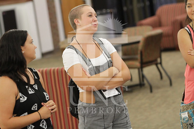 The University of North Carolina at Pembroke holds Freshman Orientation in July 2014. Freshman_Orientation_0537.JPG