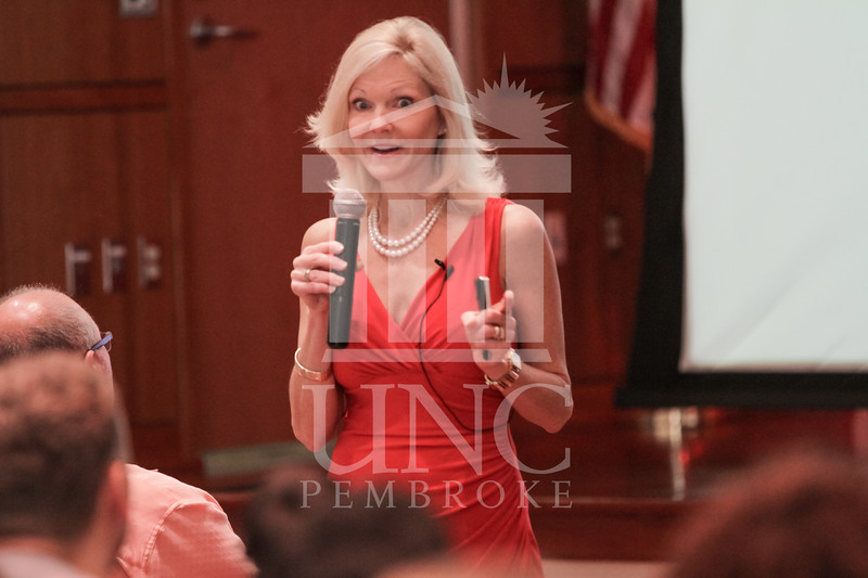 The University of North Carolina at Pembroke holds Graduate Studies Orientation on Saturday, August 16th, 2014.<br /> graduate_orientation_2_0021.JPG