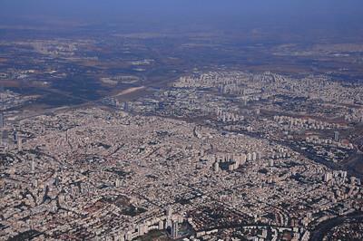 Arriving in Tel Aviv