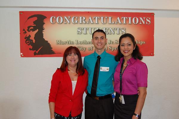 MLK Scholarship Recipients 2014