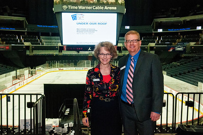 Homelessness Ends Under Our Roof Community Partnership Breakfast and Fundraiser @ Time Warner Arena 4-10-14