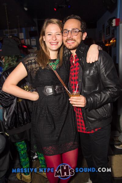 Mobile Mondays birthday throwdown Rachael Hardway and DJ Stef Nava at Bowery electric (11.24.14)