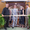 The University of North Carolina at Pembroke holds a Ribbon-Cutting Ceremony for the renovations to the Moore Hall Auditorium on Tuesday, August 26th, 2014.<br /> Moore_Hall_Auditorium_Ribbon_0042.JPG