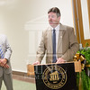 The University of North Carolina at Pembroke holds a Ribbon-Cutting Ceremony for the renovations to the Moore Hall Auditorium on Tuesday, August 26th, 2014.<br /> Moore_Hall_Auditorium_Ribbon_0027.JPG