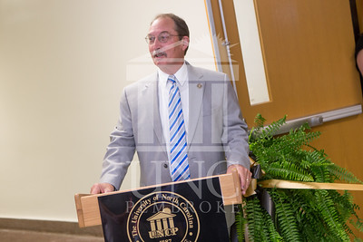 The University of North Carolina at Pembroke holds a Ribbon-Cutting Ceremony for the renovations to the Moore Hall Auditorium on Tuesday, August 26th, 2014. Moore_Hall_Auditorium_Ribbon_0007.JPG