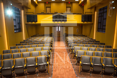 The University of North Carolina at Pembroke holds a Ribbon-Cutting Ceremony for the renovations to the Moore Hall Auditorium on Tuesday, August 26th, 2014. Moore_Hall_Auditorium_Ribbon_0001.JPG