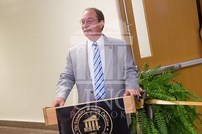 The University of North Carolina at Pembroke holds a Ribbon-Cutting Ceremony for the renovations to the Moore Hall Auditorium on Tuesday, August 26th, 2014. Moore_Hall_Auditorium_Ribbon_0008.JPG