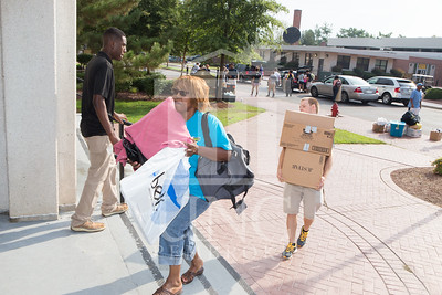 Students move in to their Dorms at the University of North Carolina at Pembroke on Monday, August 18th, 2014. move-in-2014_0004.JPG